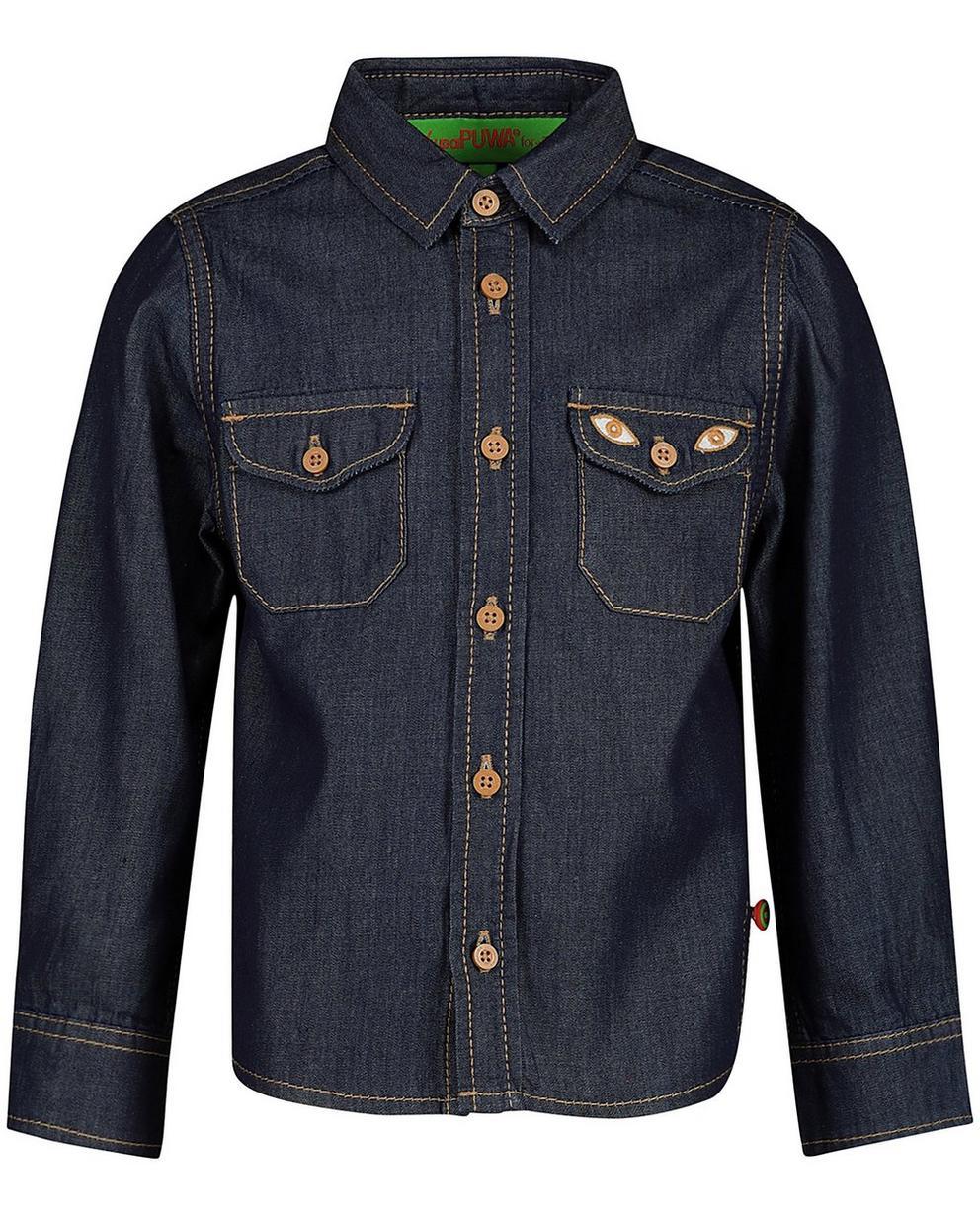 Chemises - navy - Chemise en jeans